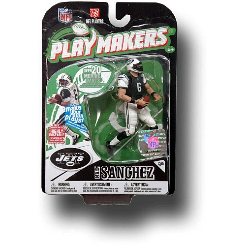 McFarlane Toys New York Jets Mark Sanchez Playmakers Series 1 Action Figurine
