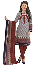 Gugaliya Women's 100 % Cotton UNSTICHED Salwar, Kameez & Dupatta Suit (SJ- 3116)