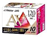 Victor ビデオテープ スタンダード 120分 10巻 T-120AVL10