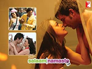 .com: Salaam Namaste - Dvd (Hindi Movie Bollywood Movie) - 2005: Saif