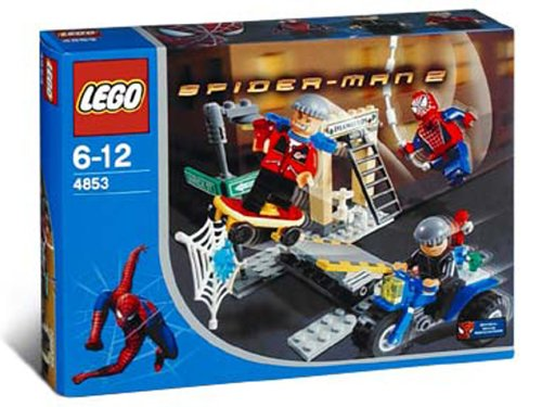 The! 4853 Hunt for LEGO Spider-Man 2 diamond robbery (japan import) günstig online kaufen