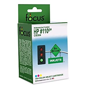 Focus Remanufactured HP 110 CB304 Tri-Color Inkjet Cartridge