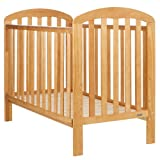 Obaby Lily Cot with Foam Mattress (Country Pine)