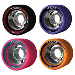 Radar Devil Ray Indoor Quad Roller Skate Wheels by Riedell