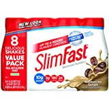 Slim Fast Original, Meal Replacement Shake, Cappuccino Delight, 11 Ounce, 8 Count