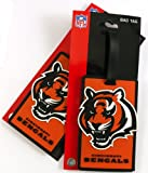 NFL Cincinnati Bengals Two Pack Soft Laser Bag Tag at Amazon.com