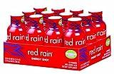 Red Rain Energy Shot, Watermelon Flavor, 2-Ounce Bottles (Pack of 12)