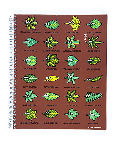 kukuxumusu-for-miquelrius-hardcover-notebook-plants-85-x-11-4-subject-college-ruled
