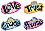 Faith Words Dazzle� Stickers