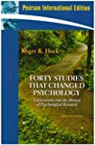 Forty Studies That Changed Psychologyex