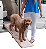 Pet Gear Indoor Bi-Fold Half Ramp for Cats and Dogs - Tan
