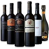 【Amazonバイヤー厳選】イタリア パーティーワイン 赤・白・泡 飲み比べ 750ml×6本セット
