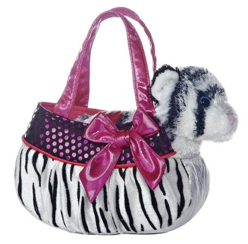 Blingy Zebra Fancy Pals Pet Carrier