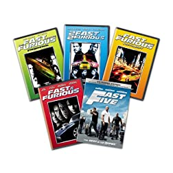 Fast and Furious 1-5 Bundle