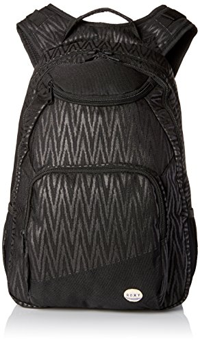 Roxy Junior's Shadow Swell Polyester Backpack, Black Chevron, One Size
