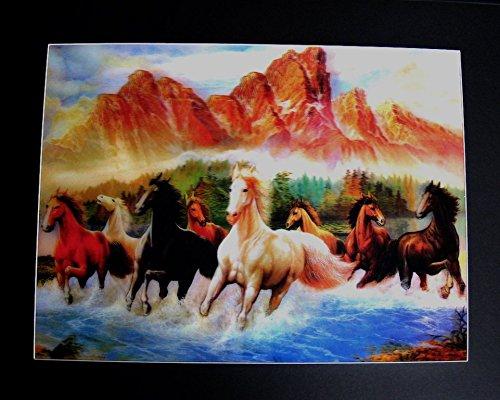 Bild von einem pferd was for Poster wanddurchbruch