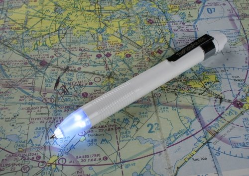 Led Pen, The Pilot'S Pen, Led Powered Ink Penlight Night Writer / New White Color Version