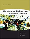 img - for Customer Behavior: A Managerial Perspective by Jagdish N. Sheth (2003-02-18) book / textbook / text book