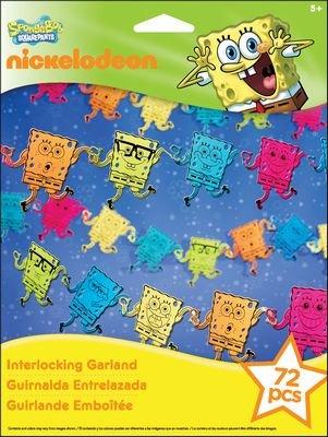 Nickelodeon Interlocking Garland Kit-SpongeBob