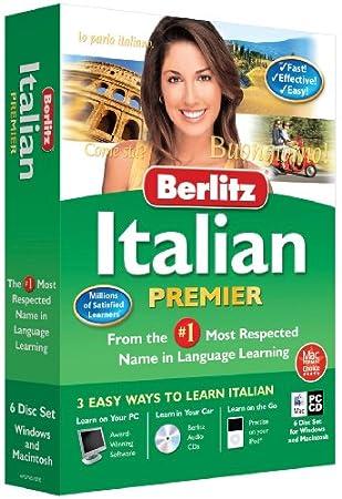 Berlitz Learn Italian Premier (PC/Mac) (6 CD Set - Windows & Macintosh)