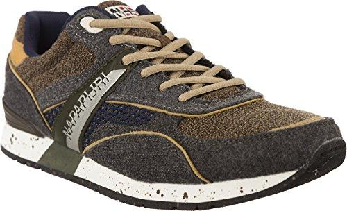 Uomo scarpa sportiva, color Grigio , marca NAPAPIJRI, modelo Uomo Scarpa Sportiva NAPAPIJRI RABARI Grigio