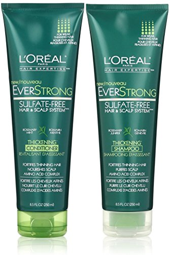 L'Oreal Paris EverStrong Thickening, DUO set Shampoo + Conditioner ...