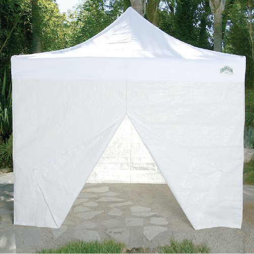 Caravan Canopy 10-Feet Canopy Sidewall Kit for Caravan DisplayShade and AlumaShade Models, White