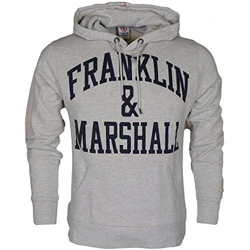 Franklin & Marshall -  Felpa con cappuccio  - Uomo Original Grey Large