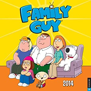Family Guy 2014 Wall Calendar by Universe Publishing