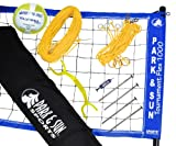 Park & Sun Tournament Flex 1000 Volleyball Net, Blue