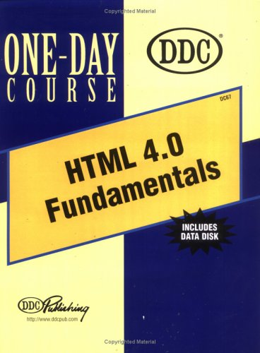Html 4.0 Fundamentals One-Day Course