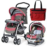 Chicco 07060796670 Cortina Keyfit 30 Travel System With Diaper Bag - Foxy