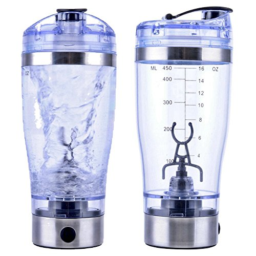 7LMIXX Ultimate Vortex Shaker Bottle Mixer USB Rechargeable BPA-free & Leak-proof Protein Blender - Set of 2 (Mixer Lift Kit compare prices)