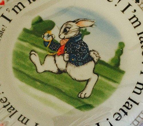 Cardew Alice In Wonderland Porcelain Dessert Plates, 7.5-Inch, Set Of 4