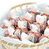 【送料無料】 竹籠入 水羊羹(みずようかん) 12個入 ひとくちサイズのかわいい京都の和菓子