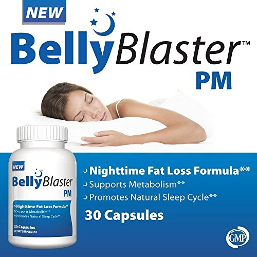 #1 Best Selling Night Time Weight Loss Supplement.  Belly Blaster PM was formulated for burning fat while you sleep. Belly Blaster PM is a non-stimulant natural fat burning formula that will give you a full nights rest. Your body will burn more fat w...