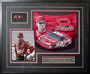Dale Earnhardt Jr Mini Hood Collage by Executive Sports Memorabilia