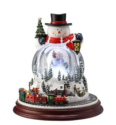 Double Snowman Snowglobe