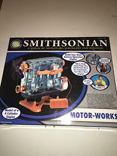 Smithsonian Motor-Works 4 Cylinder Engine (Smithsonian Motor compare prices)