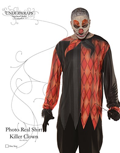 Photo Real Shirt - Killer Clown