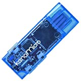 GREEN HOUSE microSD対応カンタン手軽デジタルオーディオ Kana micro ブルー GH-KANAMR-B