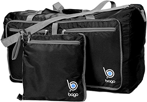 Travel Duffel Bag For Women Men And Kids - Lightweight Foldable Duffle Bag 27""