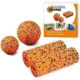 Blackroll Orange (Das Original) - DIE Selbstmassagerolle - ZUBEHÖR-SET