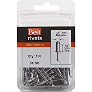 Do it Best Global Sourcing 381683 Do it Best POP Rivets-1/8X1/2 ALUM RIVET
