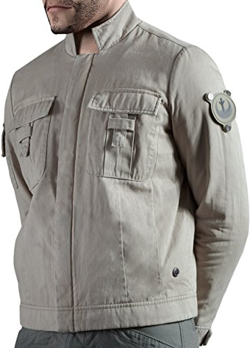 Musterbrand Star Wars Giacca Uomo Skywalker Limited Edition Replica Beige XXL