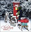 Cardmix Charity Christmas Cards In aid of The Samaritans - Christmas Wishes - Pack Of 5 Cards