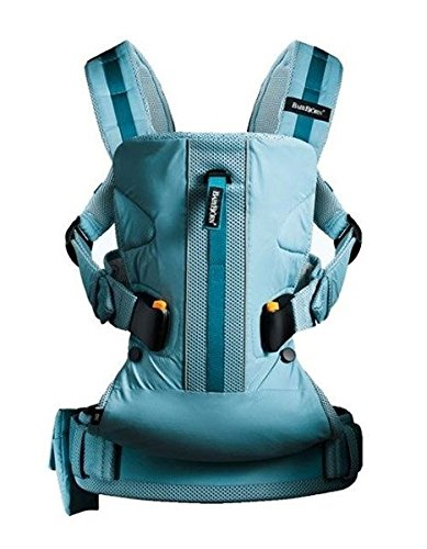 BABYBJORN Baby Carrier One Outdoors, Turquoise