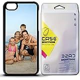 KB-Printing IPhone 5C , Black : PERSONALISED CUSTOM PRINTED - Black IPhone 5C Hard Plastic Case - Xmas, Birthday...