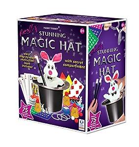 Hanky Panky Stunning Magic Hat with 75 Magic Tricks