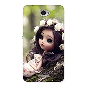 Ajay Enterprises Ft Angel And Tree Multicolor Back Case Cover for Sony Xperia E4